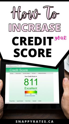 How To Improve Your Credit Score Quickly in Canada